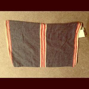 Striped loft infinity scarf NWT